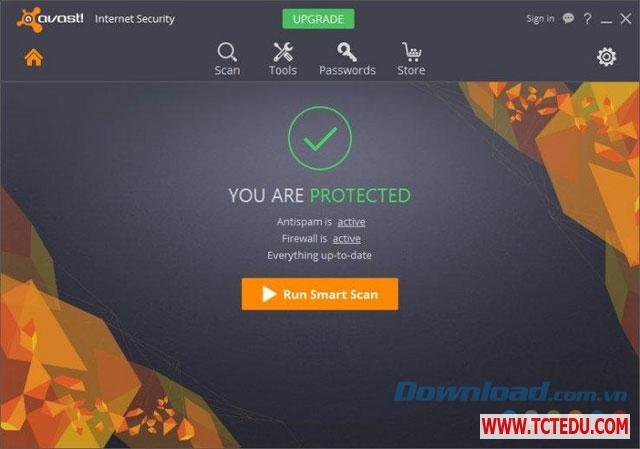 avast internet security 2017 giao dien Phần mềm Avast Internet Security 2018