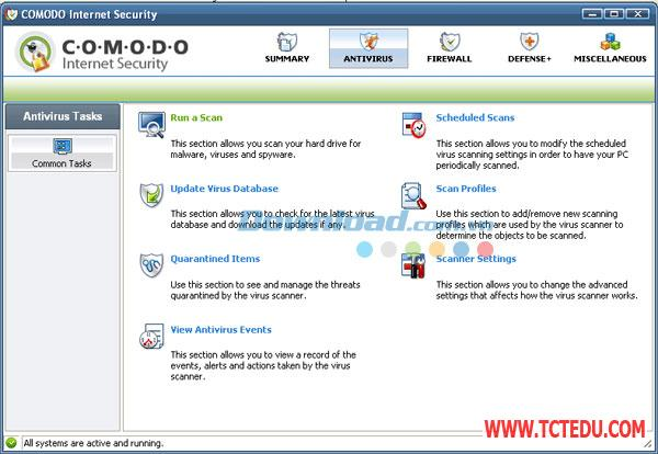 comodo internet security Phần mềm Comodo Internet Security 10