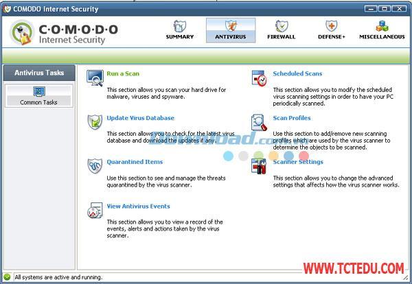 comodo internet security Phần mềm Comodo Internet Security 10