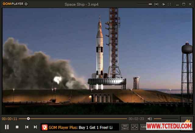 gom player giao dien 2.3 1 Phần mềm VideoProc