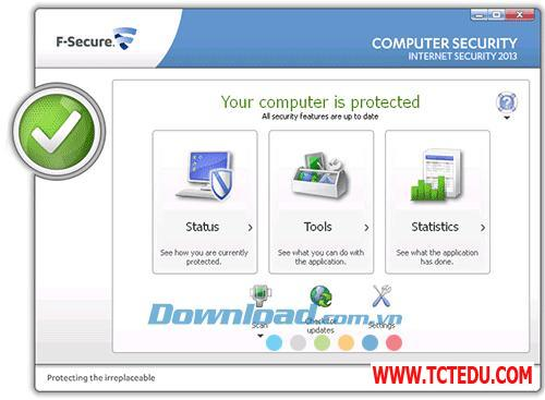 f secure internet security 2013 3 1 1 Phần mềm WinLock
