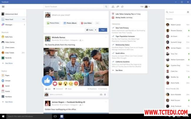 facebook cho windows new feed 1 1 Tải phần mềm Fast Delete Facebook Messages