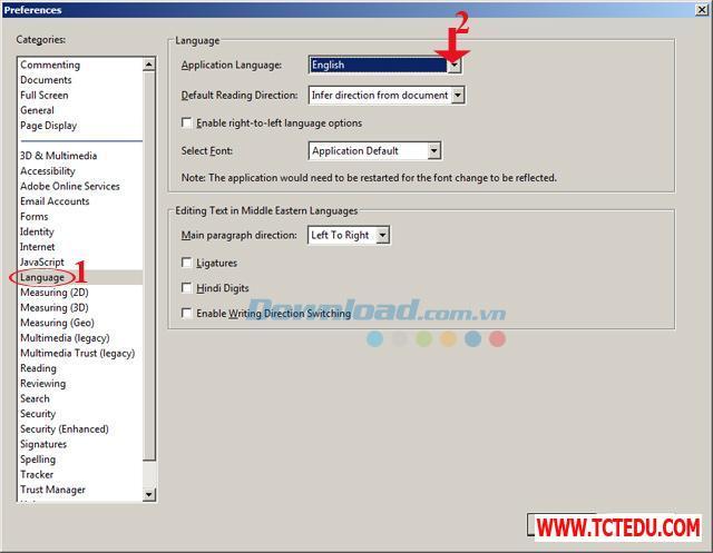 Adobe Reader 4 1 Tải phần mềm Font chữ tập viết Tiểu học