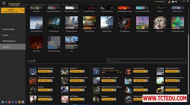 Epic Games Launcher giao dien 1 1 Phần mềm LDPlayer