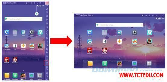 Nox App Player thiet ke 1 Phần mềm Epic Games Launcher