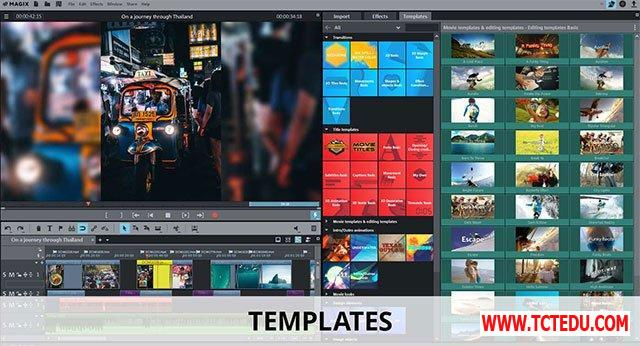 movie edit pro 2019 plus template 1 Phần mềm Movie Edit Pro 2019 Plus Windows Store Edition