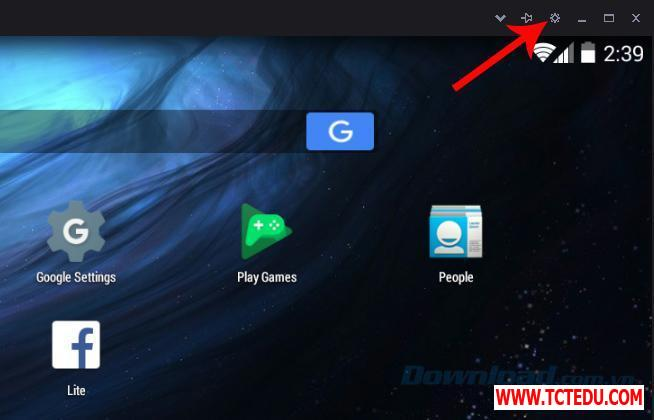 nox 4 settings 1 1 Phần mềm Epic Games Launcher