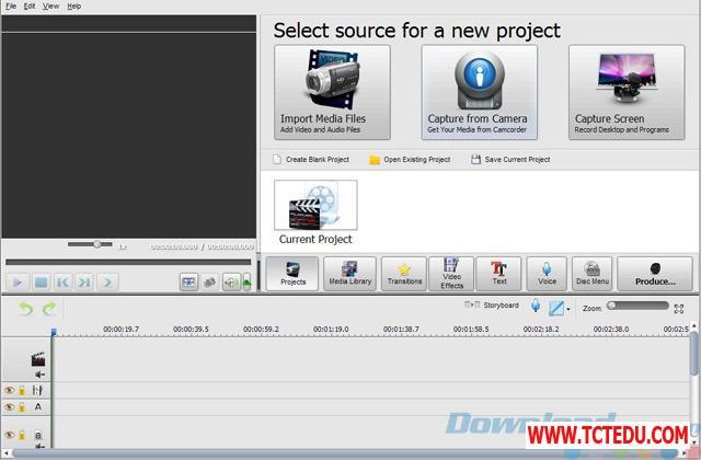 soft4boost video studio giao dien 1 2 Phần mềm Camtasia 2020