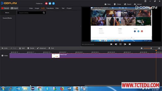 GoPlay giao dien 1 GoPlay   Phần mềm Quay video màn hình và chỉnh sửa video miễn phí