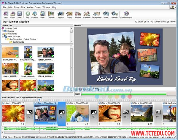 ProShow Gold 1 Phần mềm Windows Live Movie Maker 2012