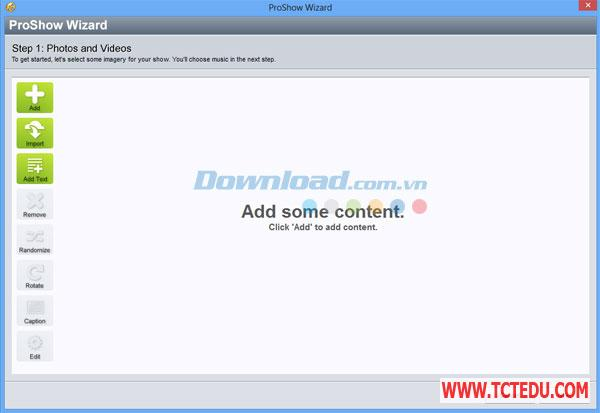 ProShow Gold 2 Phần mềm Windows Live Movie Maker 2012