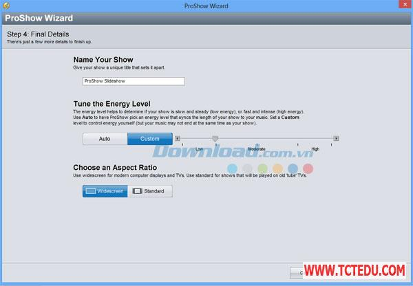 ProShow Gold 5 Phần mềm Windows Live Movie Maker 2012