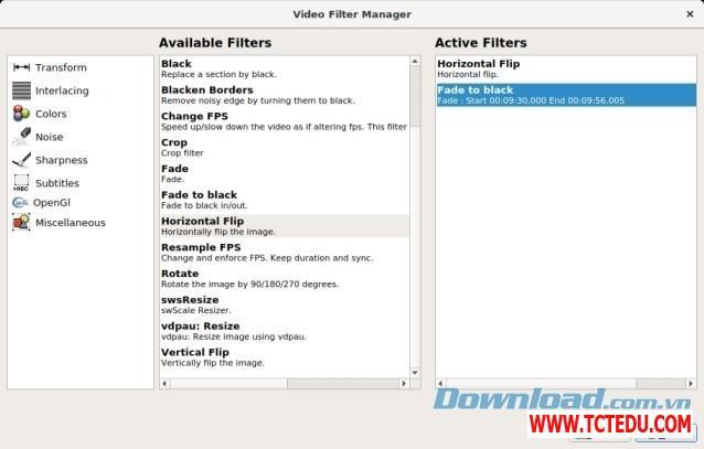 avidemux quan ly 1 Phần mềm Chick Video Studio