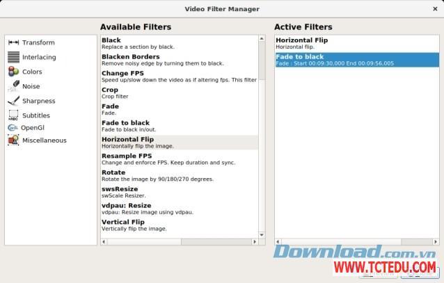 avidemux quan ly Download Phần mềm chỉnh sửa video Avidemux