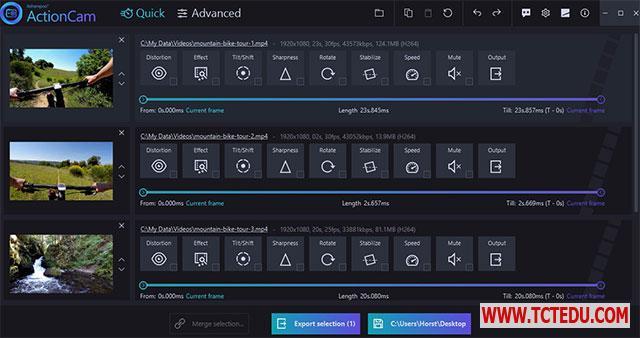 Ashampoo ActionCam cong cu Phần mềm Chick Video Studio