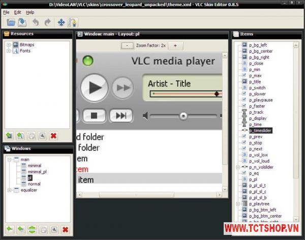 VLC Skin Editor giao dien 1 Mã CSC và những kinh nghiệm bảo vệ mã CSC bạn cần biết